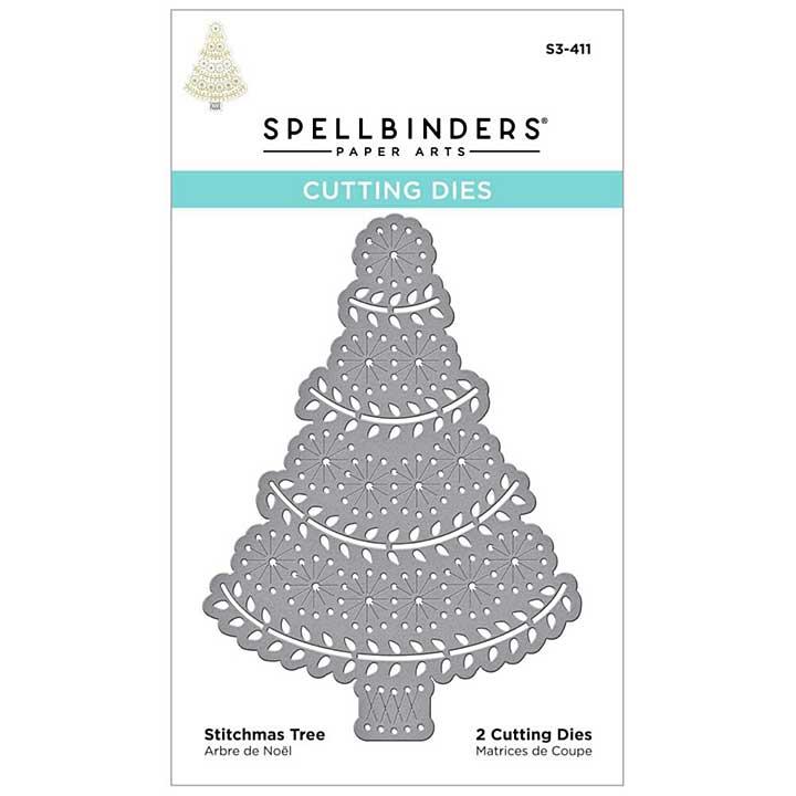 SO: Spellbinders Etched Dies - Stitchmas Tree