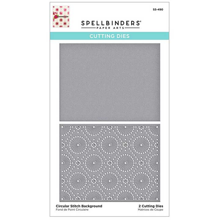 SO: Spellbinders Etched Dies - Circular Stitch Background