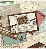Dovecraft 8x8 Designer Paper Pad Pack - Curiosity Corner