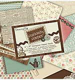 SO: Dovecraft 6x6 Designer Paper Pad Pack - Curiosity Corner