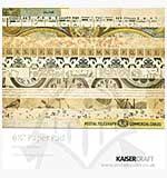 SO: Kaiser Craft 6.5 x 6.5 Paper Pad - Vintage Timeless