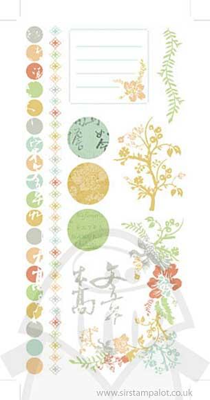 Kaiser Craft Rubons - Lush Colour
