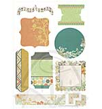 Kaiser Craft Die Cut Elements - Lush