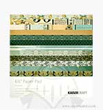 SO: Kaiser Craft 6.5 x 6.5 Paper Pad - 75 Cents