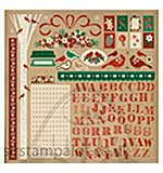 SO: Kaiser Craft - Holly Bright Collection - Sticker Sheet