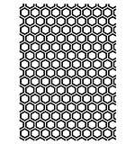 Kaisercraft Embossing Folder 5x7 - Honeycomb
