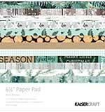 Kaisercraft Paper Pad 6.5 x 6.5 - Mint Wishes (40pk)