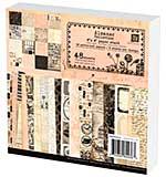 SO: Prima Marketing Paper Stack 6x6 48pk - Almanac Collection