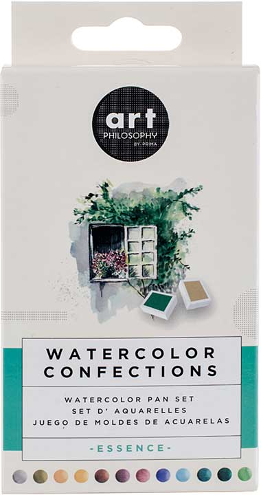 SO: Prima Watercolor Confections Watercolor Pans 12pk - Essence