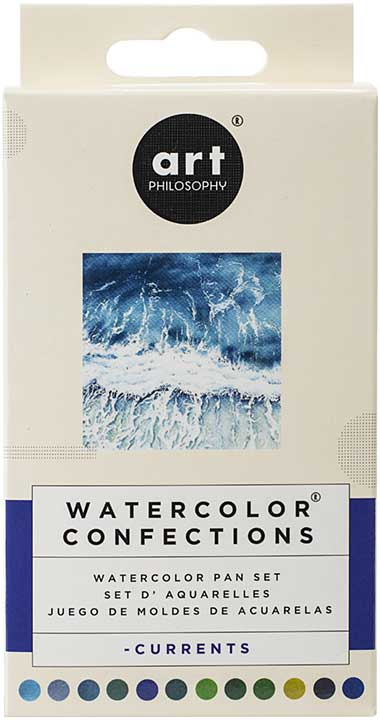 SO: Prima Watercolor Confections Watercolor Pans 12pk - Currents
