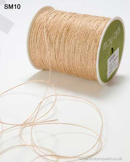 SO: May Arts Jute String Burlap - Natural