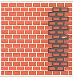 Marianne Design 5x5 Embossing Folder and Die - Bricks, 1.375x4.125