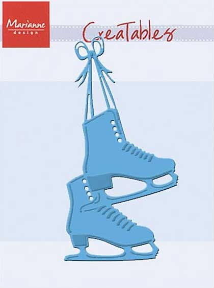 SO: Marianne Design Creatables Dies - Skates, 4.25x2.5