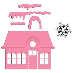 SO: Marianne Design Collectables Dies with Stamps - Christmas Village 1
