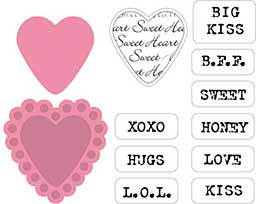 SO: Marianne Design Collectables - Candy Heart