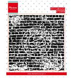 Marianne Design - Brick Wall Background - Clear Stamp
