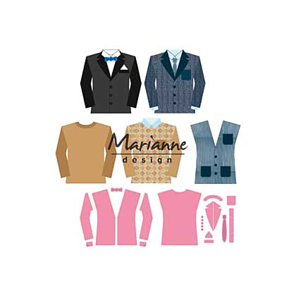 SO: Marianne Design Mens Wardrobe - Collectables