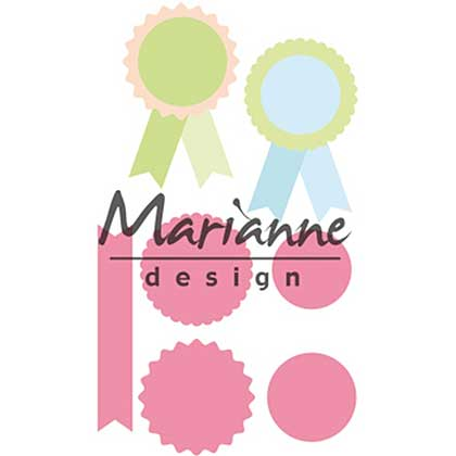 SO: Marianne Design Collectables - Rosettes & labels