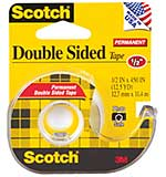 Scotch Permanent Double-Sided Tape (0.5 x 450)