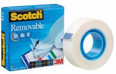 SO: 3M Removeable Tape 19mm x 32.9m