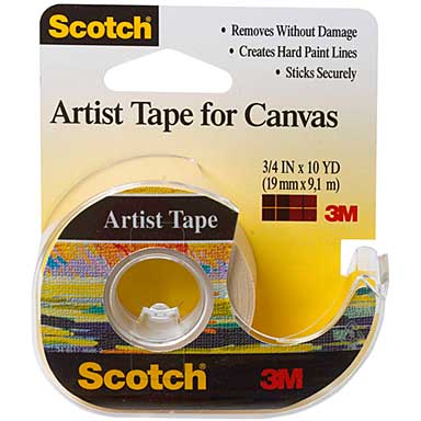 Scotch Artist Tape For Canvas (.75 x 10yd)