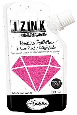 Izink Diamond Paint - Fuchsia 80ml
