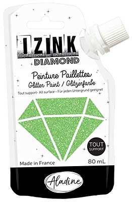 Izink Diamond Paint - Vert Clair (Light Green) 80ml