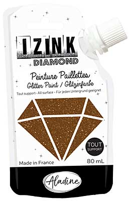 Izink Diamond Paint - Marron (Brown) 80ml