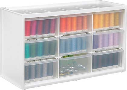 ArtBin Store-In-Drawer Cabinet - 14.375x6x8.675 Translucent