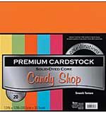 SO: Coredinations Value Pack - Candy Shop - Smooth Cardstock, 12x12 20 Sheets