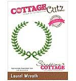 CottageCutz Elites Die - Laurel Wreath