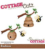 Cottage Cutz - 4x4 Cutting Die - Beehives