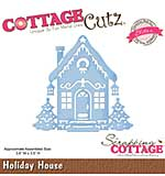 Cottage Cutz Elites Die - Holiday House