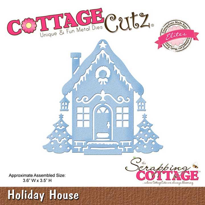 Cottage Cutz Elites Die - Holiday House
