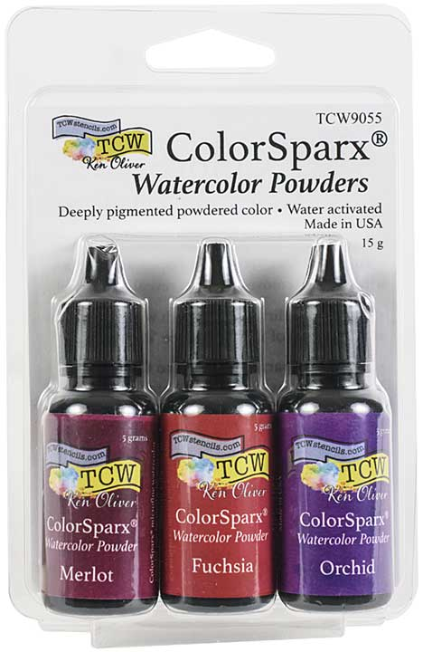 Ken Oliver ColorSparx Powders - Berry Punch