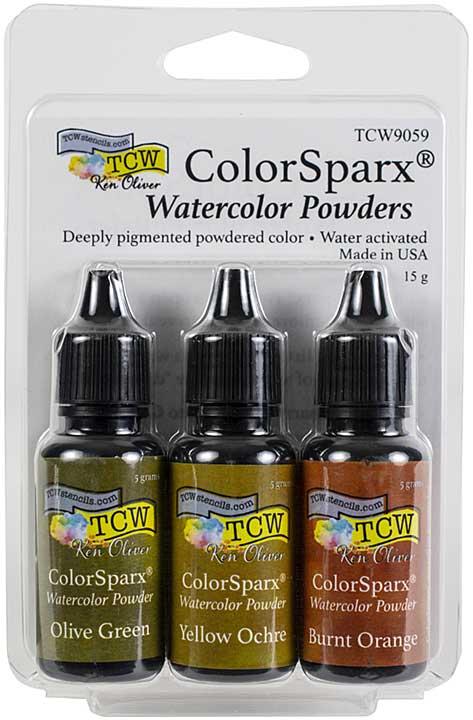 Ken Oliver ColorSparx Powders - Grassland