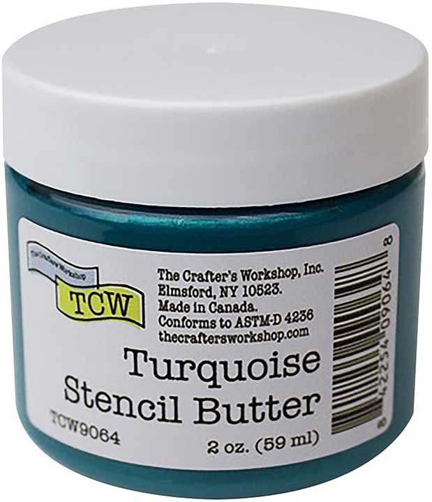 Crafter\'s Workshop Stencil Butter 2oz - Turquoise