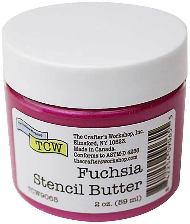 Crafter\'s Workshop Stencil Butter 2oz - Fuchsia