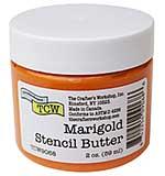 Crafter's Workshop Stencil Butter 2oz - Marigold