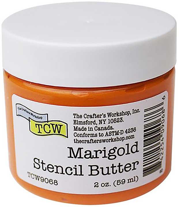 Crafter\'s Workshop Stencil Butter 2oz - Marigold