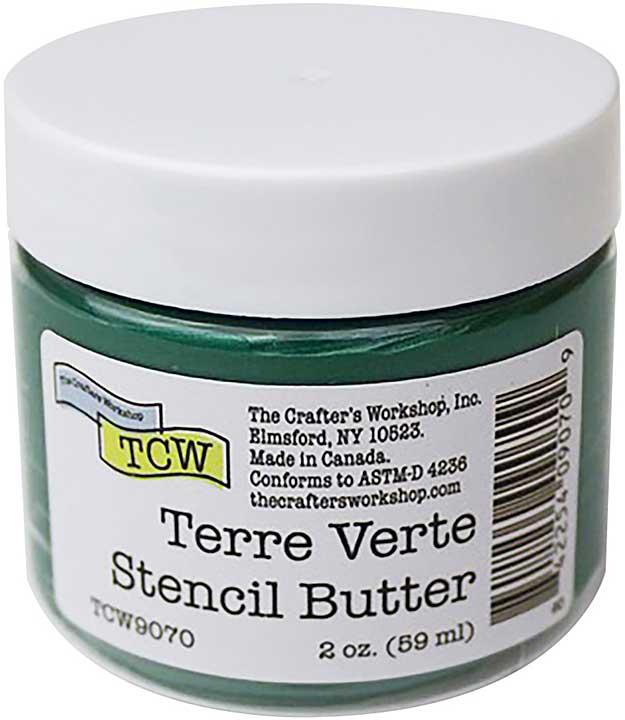 Crafter\'s Workshop Stencil Butter 2oz - Terre Verte