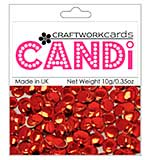 SO: Craftwork Cards Candi - Regal Ruby (mirror red)