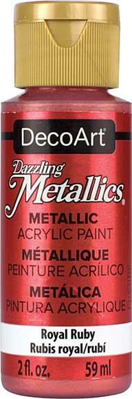 Dazzling Metallics Acrylic Paint 2oz - Royal Ruby