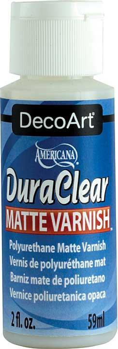 DuraClear Varnish - 2oz Matte