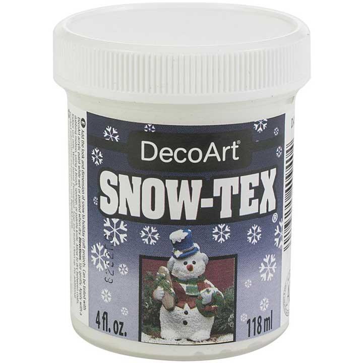 DecoArt Snow-Tex Dimensional Snow Accent, 4oz