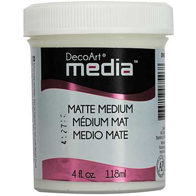 DecoArt Matte Media Medium, 4oz