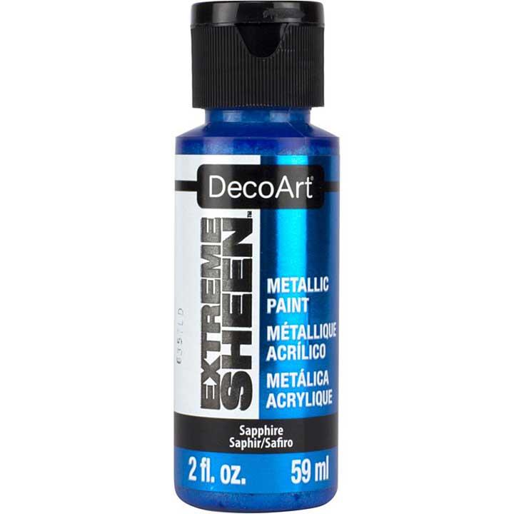 DecoArt Extreme Sheen Metallic Paint - Saphire