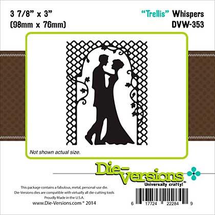 Die-Versions Whispers Die - Trellis 3.875x3