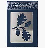 SO: Dreamweaver Stencil - Large Oak Leaves