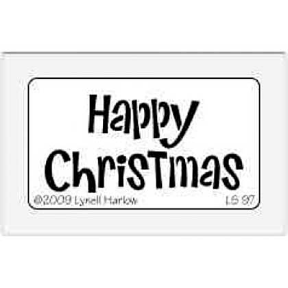 Dreamweaver Stencils - Happy Christmas Small